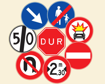 Trafik Dersi konuları