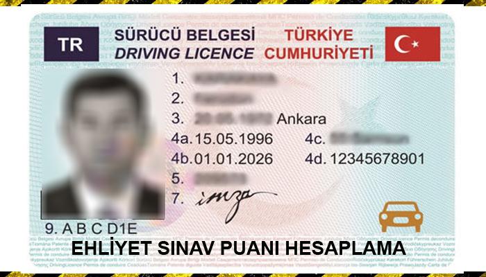 ehliyet puanı, ehliyet puan hesaplama, sürücü belgesi puan hesaplama