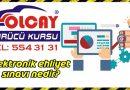 Elektronik ehliyet sınavı nedir